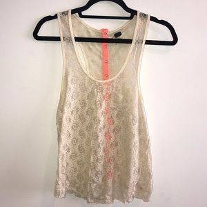 We The Free Tops - We the free bandeau style see-through shirt